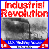 Industrial Revolution Activities U.S. History, American Hi
