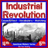 Industrial Revolution Activities U.S. History, American History 4th, 5th Grades