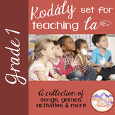 A Collection of Songs, PDFs, Activities and More for Teaching la