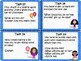 A Growth Mindset Task Cards Activity for IB PYP Self Management Skills