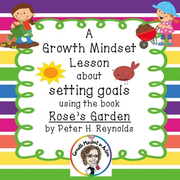 A Growth Mindset lesson about Goal Setting using the book