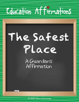 A Guardian's Affirmation (Education Affirmations Series)