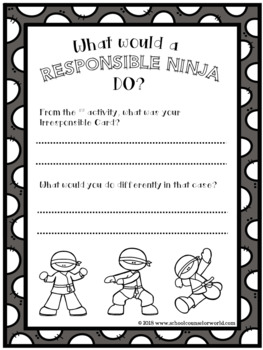 A Guidance Lesson on Being Responsible, Grades 2-3