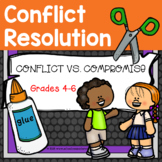 A Guidance Lesson on Conflict vs. Compromise, Grades 4-6