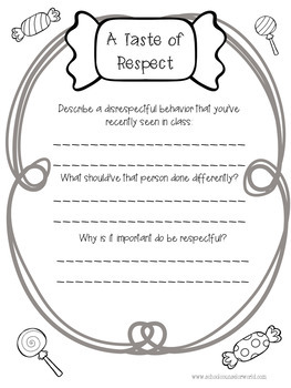 A Guidance Lesson on Give Respect=Get Respect, Grades 4-6