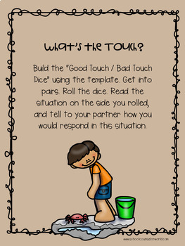 A Guidance Lesson on Good Touch, Bad Touch, Grades 2-3