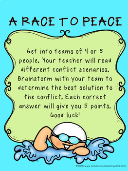 A Guidance Lesson on Group Conflicts, Grades 2-3