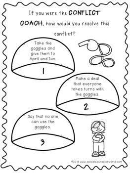 A Guidance Lesson on Group Conflicts, Grades K-1