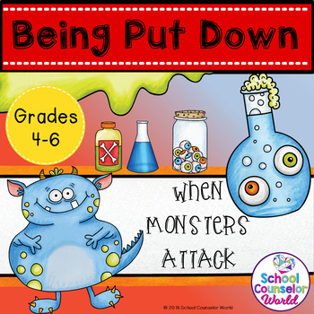 A Guidance Lesson on When Others Tear You Down, Grades 4-6