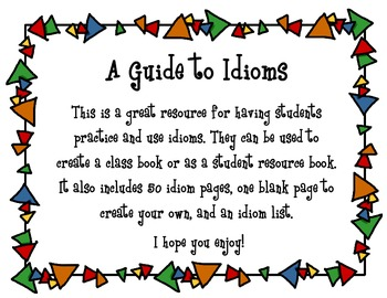 A Guide Book to Idioms