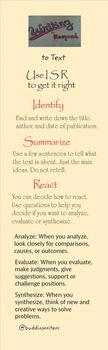 A Guide for Writing to Respond to Informational or Literary  Text