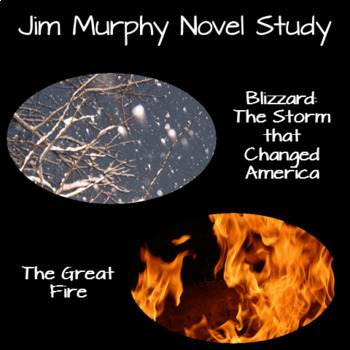 The Great Fire and Blizzard [Jim Murphy] Bundled Book Units