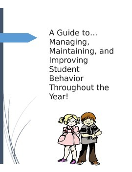 A Back To School Guide for Managing & Improving Student Behavior