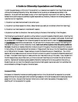 A Guide to 6th Grade Citizenship
