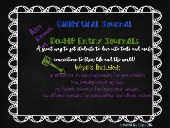 A Guide to Dialectical Journaling