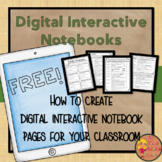 A Guide to Getting Started with Digital Interactive Notebooks