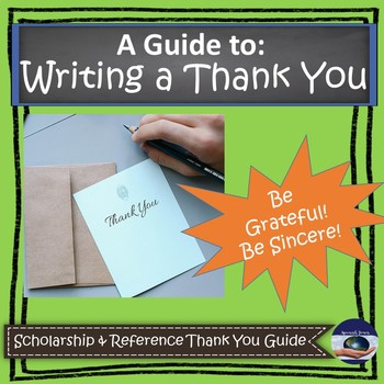 A Guide to Writing a Scholarship Thank You
