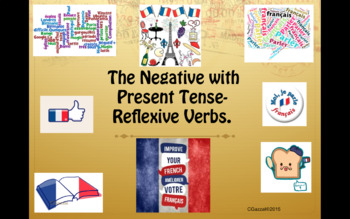 A Guide to the Negative with French Reflexive Verbs in the Present Tense.