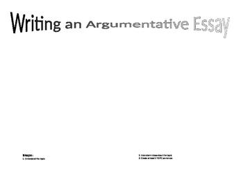 A Guide to writing Argumentative Essays