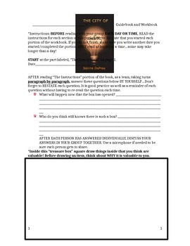 A Guidebook for The City of Ember by Jeanne DuPrau