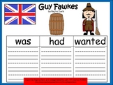 A+ Guy Fawkes: Graphic Organizers