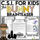 Crime Scene Investigation Activity | Spring Activity or Easter
