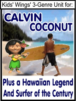 A HAWAIIAN TRIO: Calvin Coconut, Surfer of Century, Night of the 7 Splashes