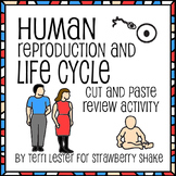 A HUMAN LIFE CYCLE Cut and Paste Activity:  Mitosis, Meiosis, Fertilization