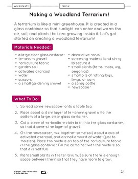 A Habitat Creation Lesson Plan Grade 4