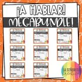 Spanish Interpersonal Speaking Info Gap Activity Megabundle EDITABLE