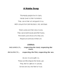 A Haida Song (lyrics)