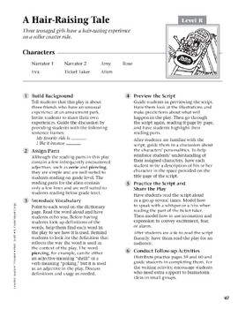 A Hair-Raising Tale (Leveled Readers' Theater, Grade 5)