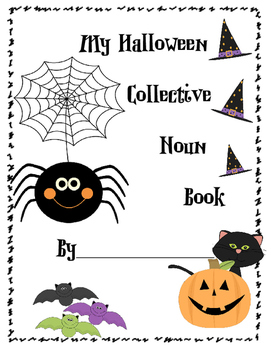 My Halloween Collective Noun Book
