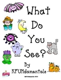 A Halloween Color Story: Color Sight Words Kgtn Common Cor