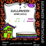 A Halloween Drum Circle