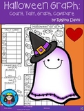 A+ Halloween Graph: Count, Tally, Graph, and Compare