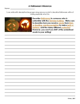 A Halloween Inference