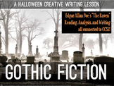"""*A Halloween Lesson for High School**Poe's Gothic Writing in """"The Raven""""**"""