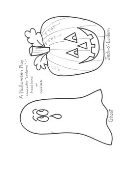 A Halloween Play for Christian Children
