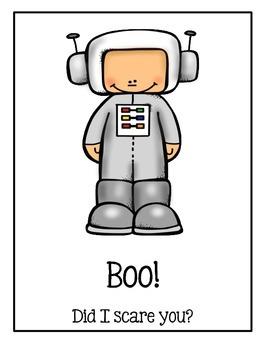 Halloween Book ~ Boo! Did I Scare You?