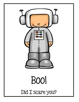 Halloween Book - Boo! Did I Scare You?