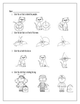 A Halloween Story: Reading & Vocabulary