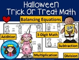 A+ Halloween Trick Or Treat Math