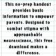 A Handout on Talking About Suicide for Parents