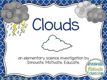 A Hands On Cloud Lesson for Elementary Science Students