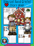 A+ Hansel And Gretel: Fairy Tale Story Maps