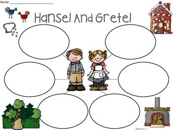 A+ Hansel and Gretel... Three Graphic Organizers