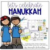 Hanukkah Activities: Graphic Organizers, Mini-Book, and Craft!