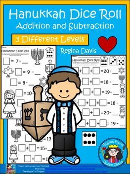 A+ Hanukkah Dice Roll: Balancing Out Equations