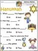A+ Hanukkah.Chanuka: Fill In the Blank.Multiple Choice Sig